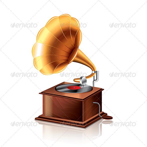 GraphicRiver Classic Gramophone 6901058