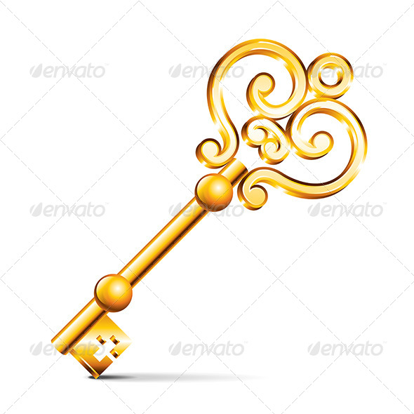 GraphicRiver Golden Key 6901202
