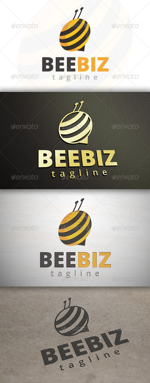 GraphicRiver Bee Media Logo 6901212