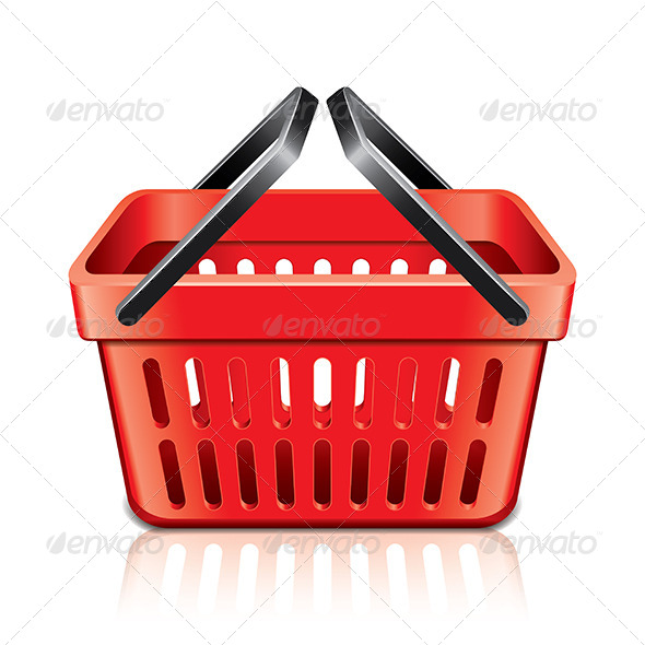 GraphicRiver Empty Shopping Basket 6901302