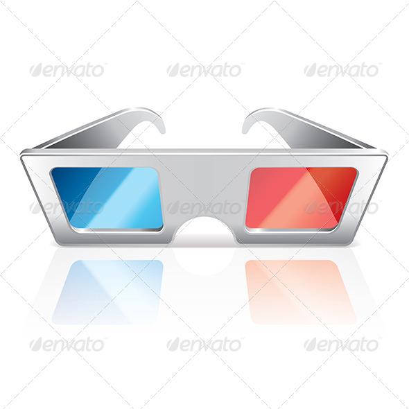 GraphicRiver 3D Glasses 6901312