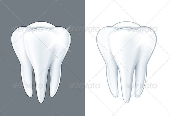 GraphicRiver Shiny Tooth 6901319