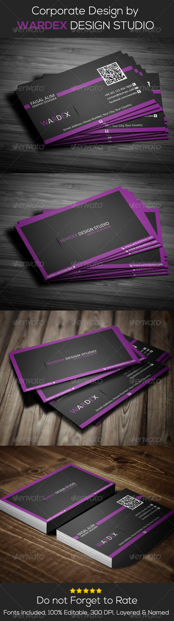 GraphicRiver Corporate & Pro Business Card Design 6901439