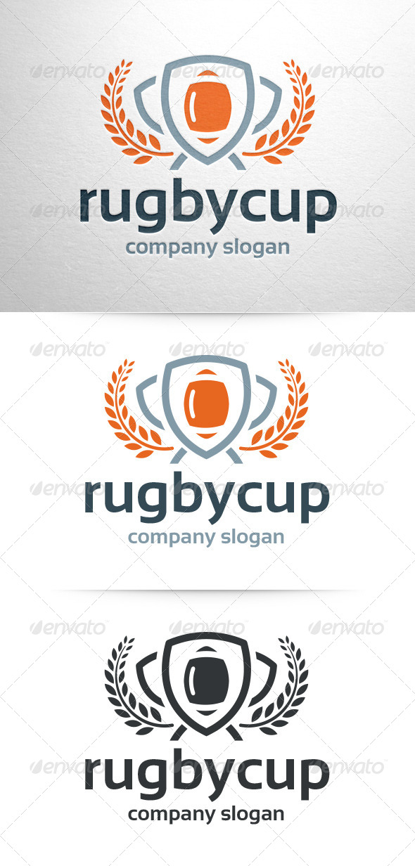 GraphicRiver Rugby Cup Logo Template 6901569