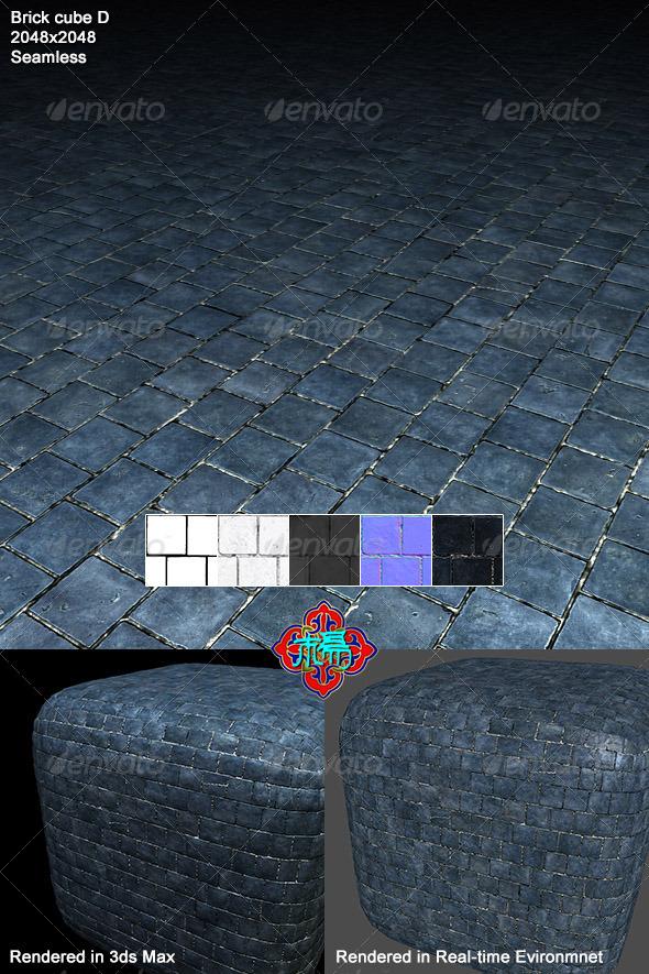 3DOcean Square brick Texture 04 6901570