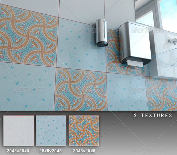 3DOcean Professional Ceramic Tile Collection C082 721584