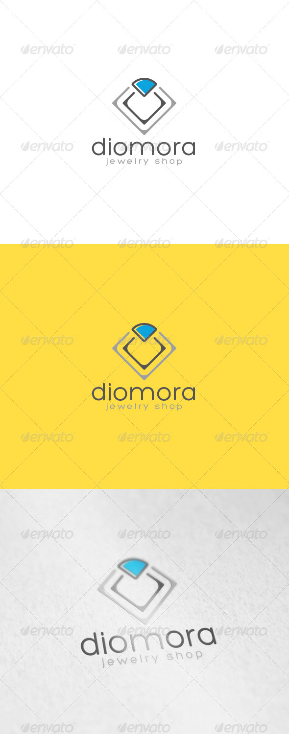 GraphicRiver Diamora Logo 6901728