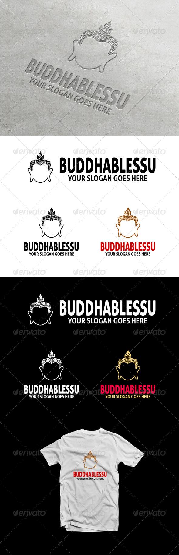 GraphicRiver BuddhaBlessU Logo 6901879