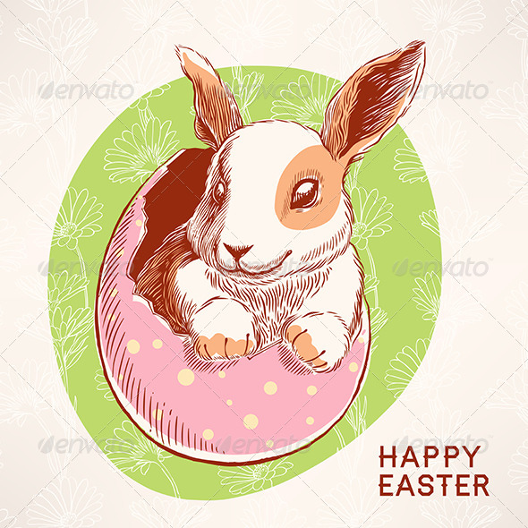 GraphicRiver Easter Bunny 6901961