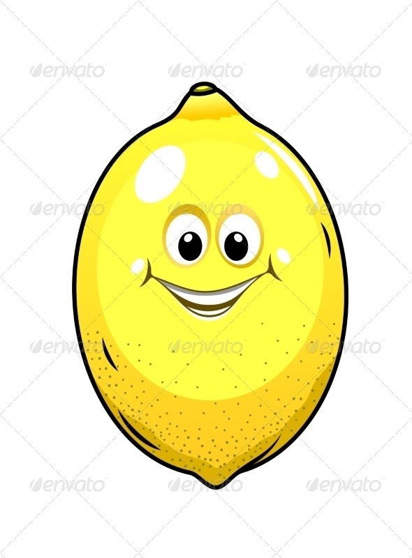 GraphicRiver Little Lemon with a Happy Grin 6902181