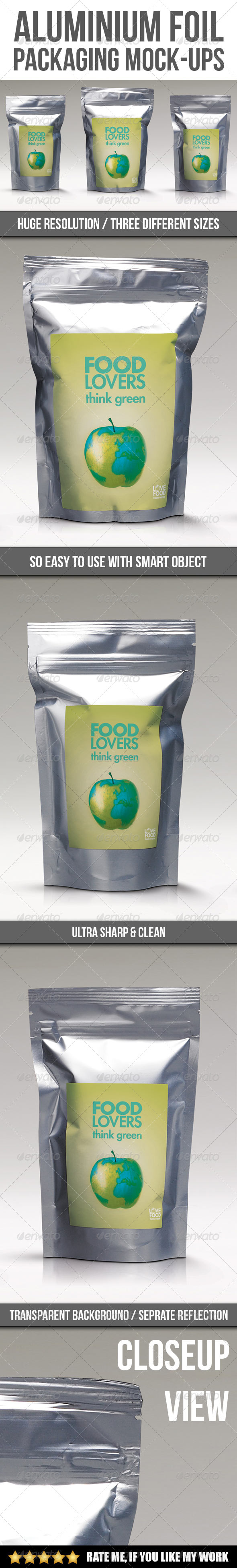 GraphicRiver Aluminium Packaging Mock-up 6902262