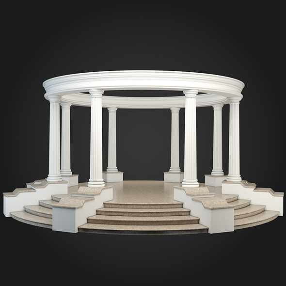 Gazebo 031 - 3DOcean Item for Sale
