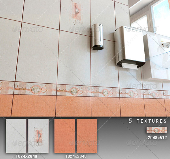 Professional Ceramic Tile Collection C088 - 3DOcean Item for Sale