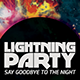 Cosmic Flyer Party - GraphicRiver Item for Sale