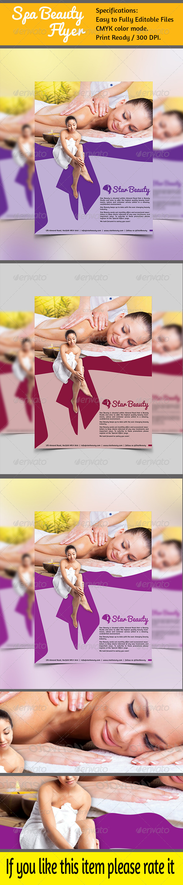GraphicRiver Spa and Beauty GD003 6902861