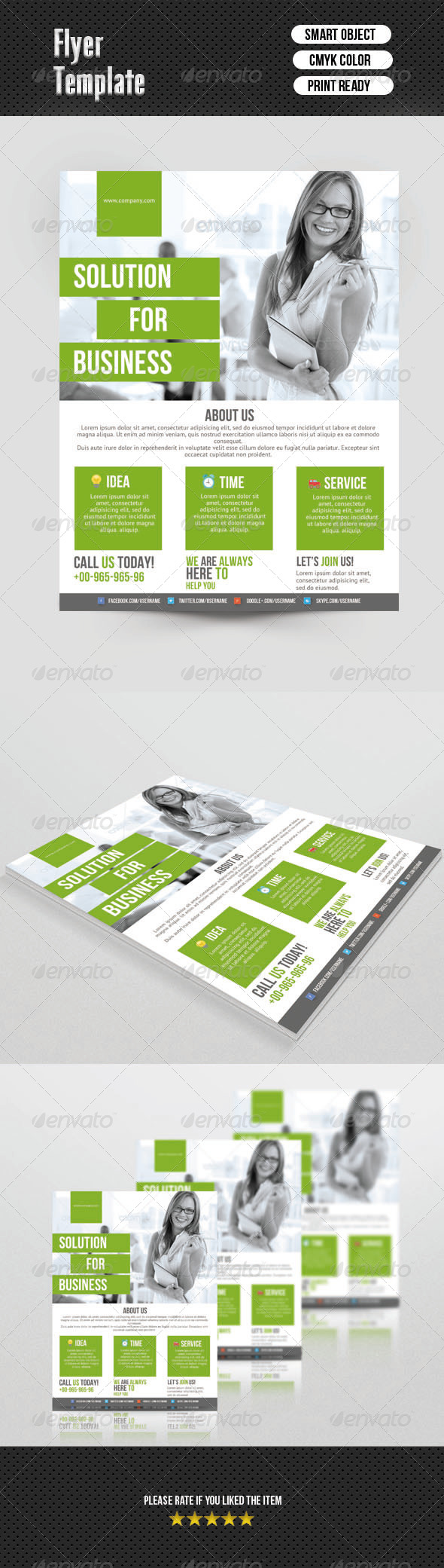 GraphicRiver Business Flyer 6903055