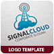 Signal Cloud Logo Template - GraphicRiver Item for Sale