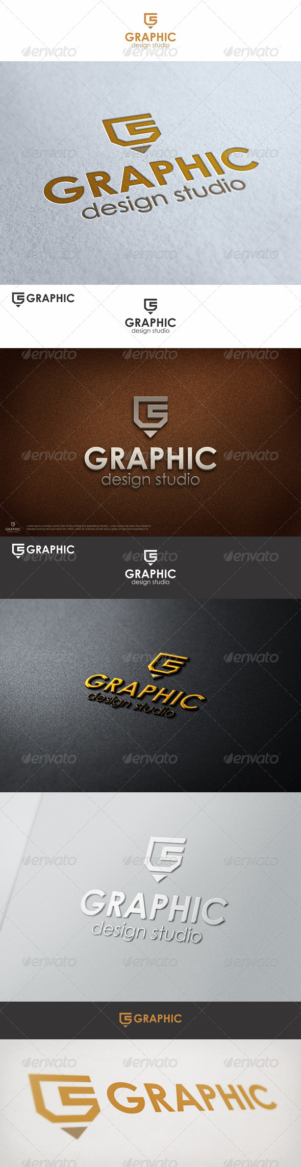 Graphic Pencil Studio Logo G