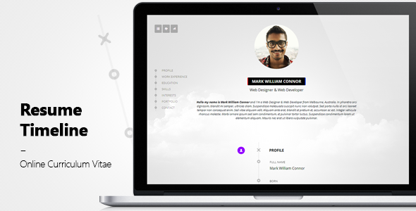resume timeline premium bootstrap template bootstrap stage