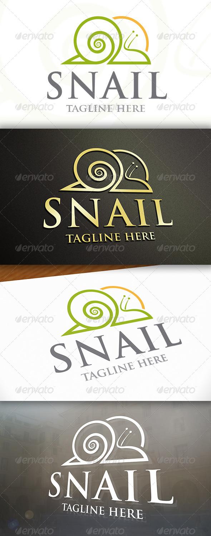 GraphicRiver Snail Logo 6903429