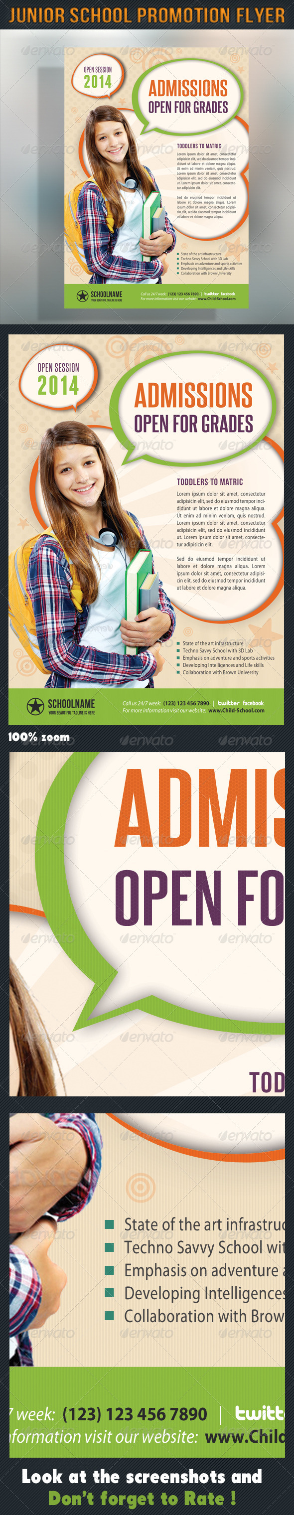 GraphicRiver Junior School Promotion Flyer 02 6903528