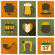 St. Patrick's Day Icons Collection - GraphicRiver Item for Sale