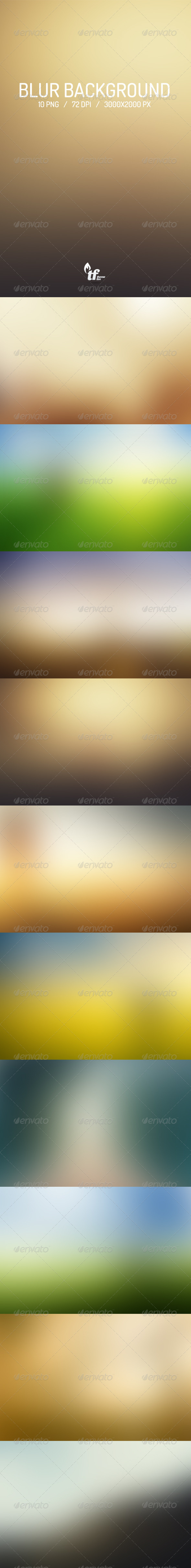 GraphicRiver Blur Backgrounds 6903617
