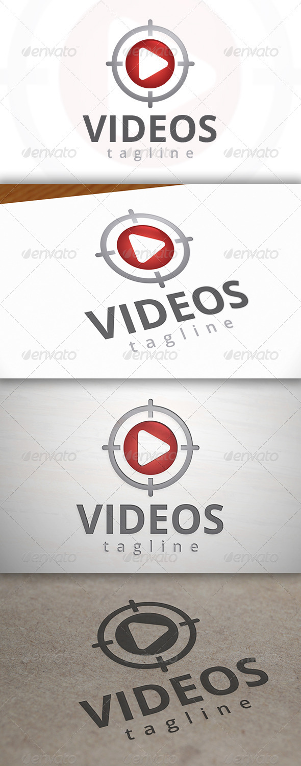 GraphicRiver Video Target Logo 6903743