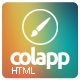colapp - one page HTML template - ThemeForest Item for Sale