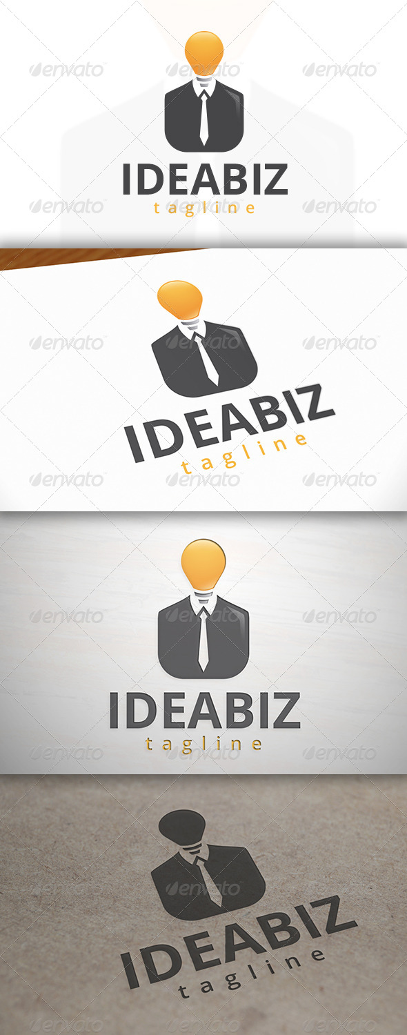 GraphicRiver Idea Business Logo 6904375