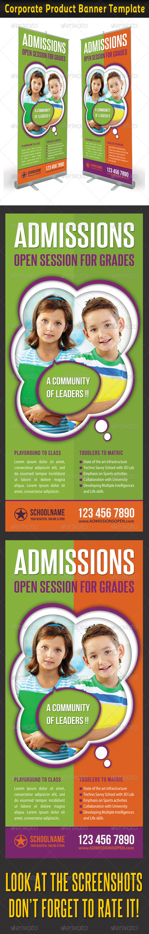 GraphicRiver Junior School Promotion Banner Template 02 6904404