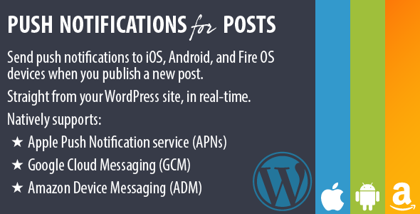 CodeCanyon Push Notifications for Posts 6868260