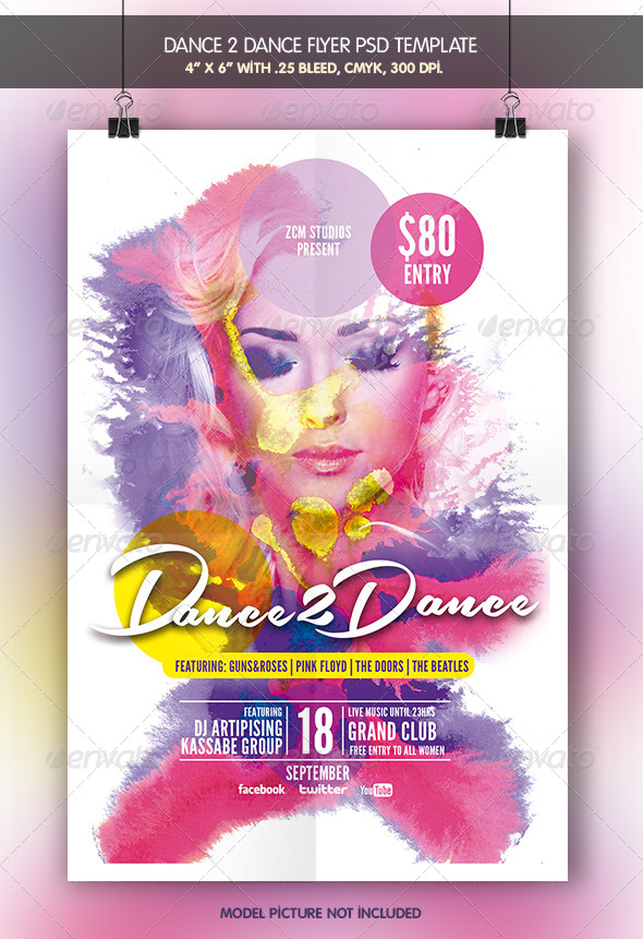 GraphicRiver Dance to Dance 6905188