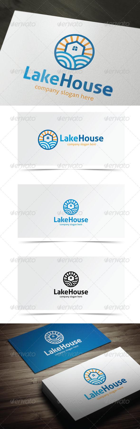 GraphicRiver Lake House 6905615