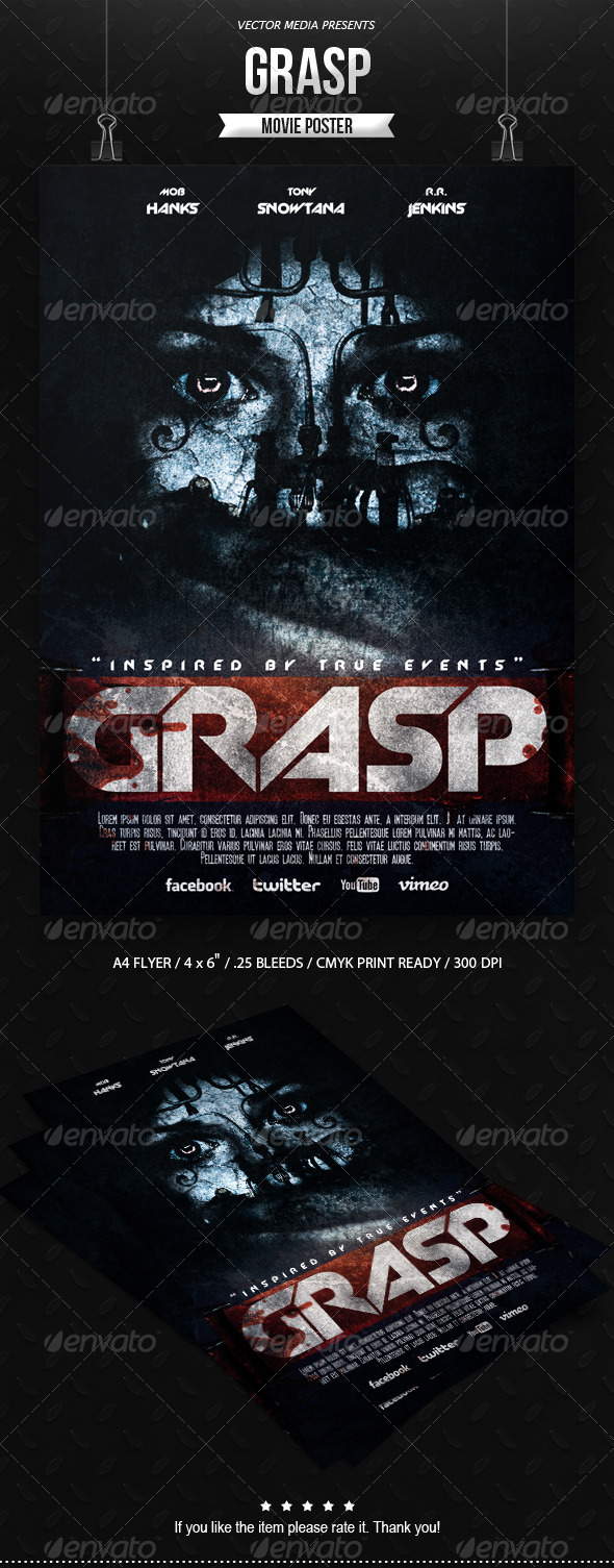 GraphicRiver Horror Movie Poster [Vol.2] 6905790