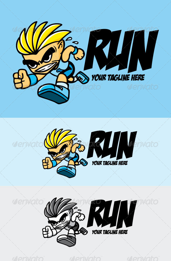 GraphicRiver Run 6896542