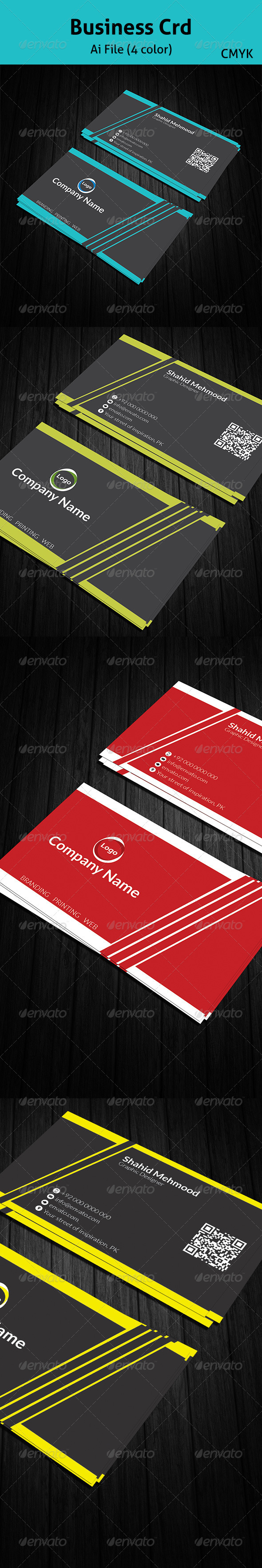 GraphicRiver Business Card 6905991
