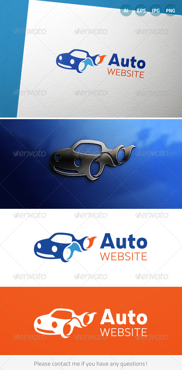 GraphicRiver Automotive Car Vehicle Driving Logo 6906034