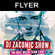Dj Show | Flyer Template - GraphicRiver Item for Sale