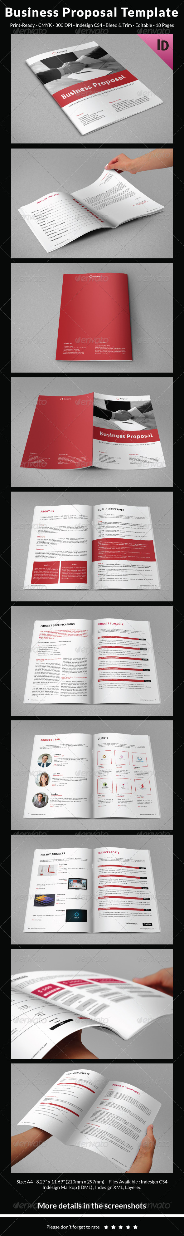 GraphicRiver Business Proposal Template 6906437