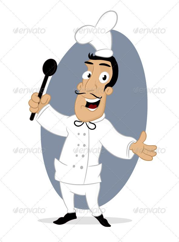 GraphicRiver Happy Chef 6906627