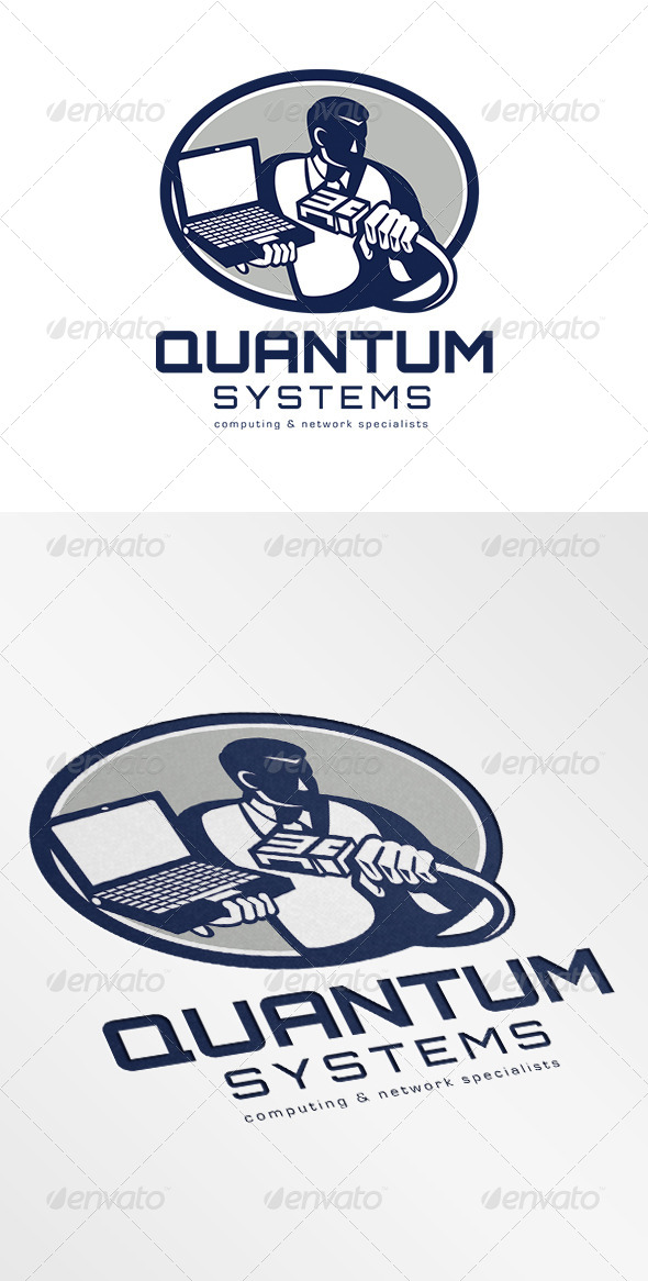 GraphicRiver Quantum Systems Computing Networking Specialist Lo 6906914