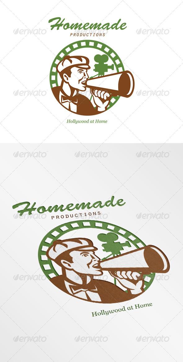GraphicRiver Homemade Productions Movie Camera Logo 6906931