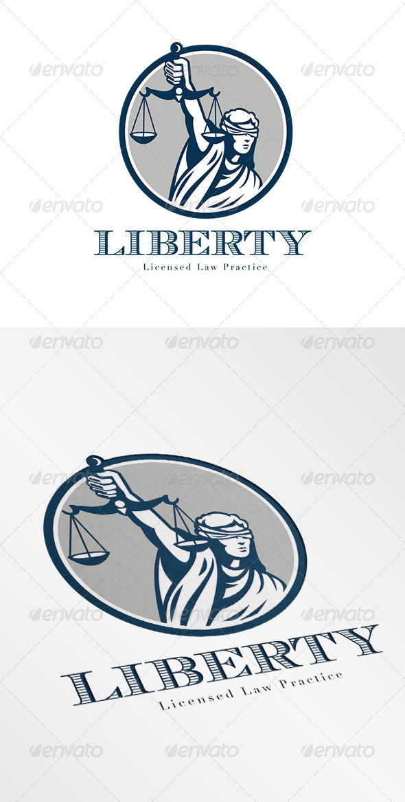 GraphicRiver Liberty Law Practice Logo 6906954