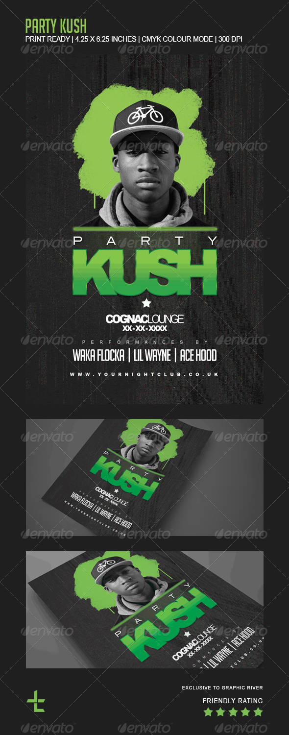 GraphicRiver Party Kush 6906959