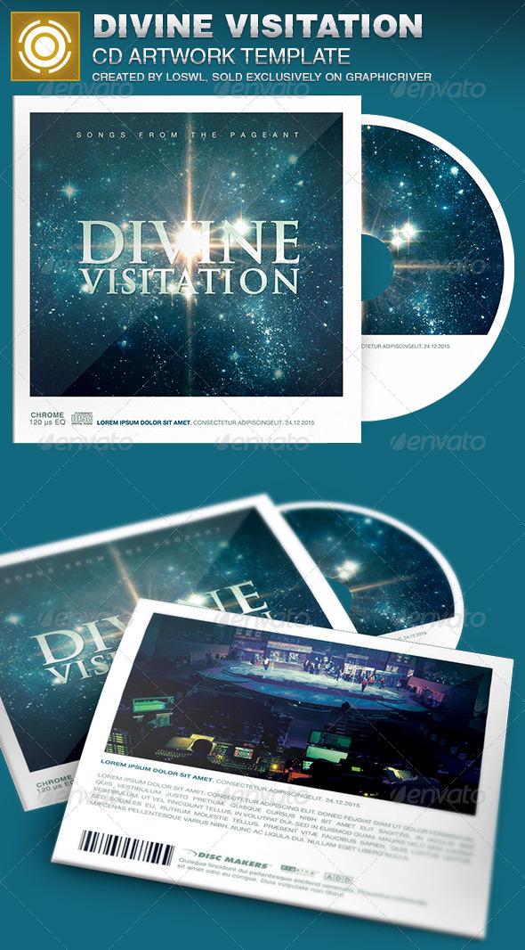 Divine Visitation CD Artwork Template