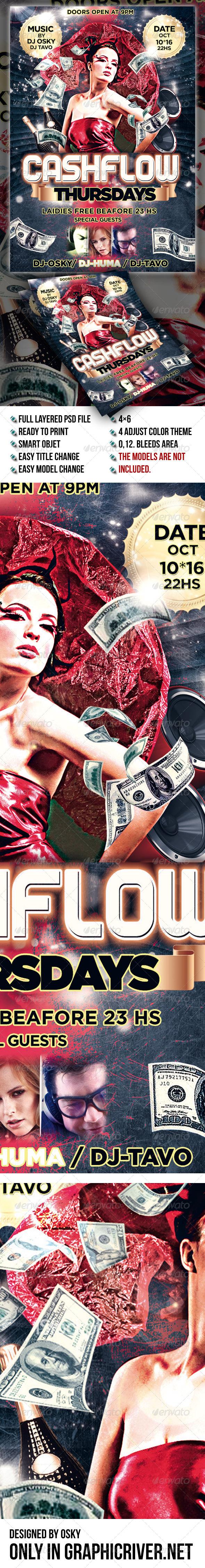 GraphicRiver Cashflow Thursdays Flyer 6907517