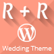R+R Single Page Wedding Template