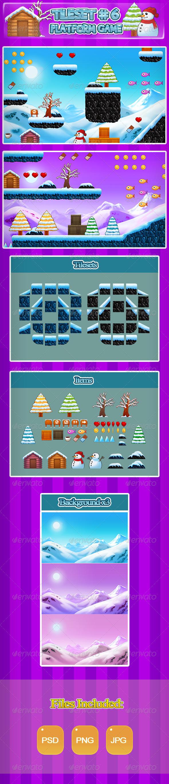 GraphicRiver 2D Tileset Platform Game 6 6907917