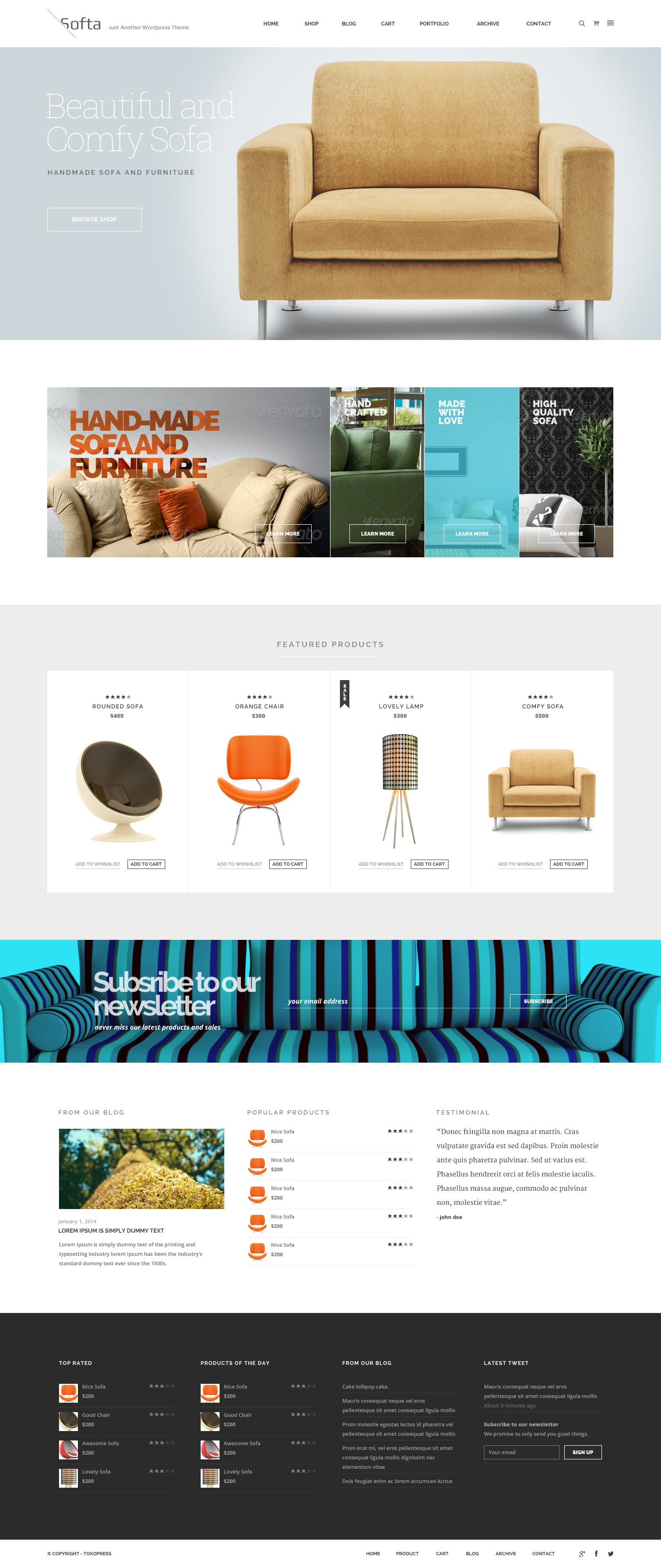 soffa electric commerce ~ soffa  multipurpose psd templates by tokopress  themeforest